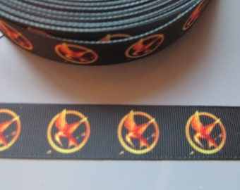 Hunger Games Mockingjay Grosgrain Ribbon x 1 metre