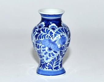 Royal Delft Porceleyne De Fles 8104 Porcelain Blue & White Bud Vase