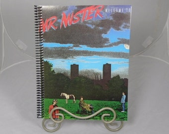 """Mr. Mister """"Welcome to the Real World"""" Original Record Album Cover Notebook"""