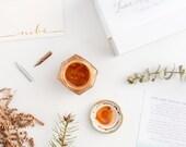 Kit de calligraphie encre doré ajouter sur