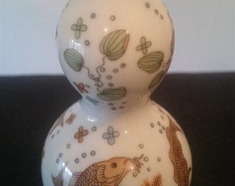 Vintage Japanese Porcelain Miniature Posy Flower Vase