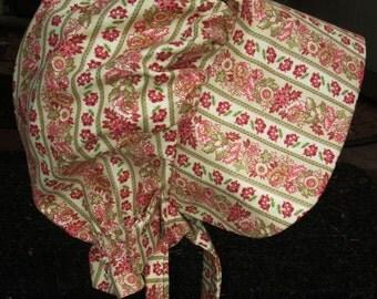 """Girls Pioneer bonnet /  Girls Prairie bonnet """" ready to ship"""" PLEASE read size inside"""