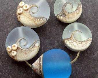 Lampwork Beads (5) Mix 10