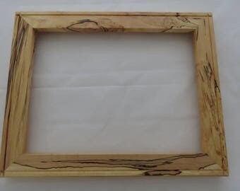 9x12 Spalted Maple Picture Frame