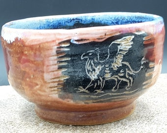 griffon tea bowl