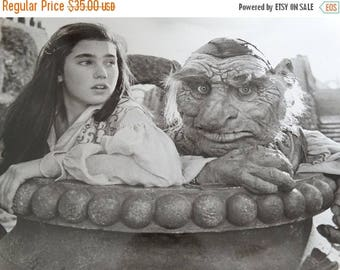 1986 Labyrinth Press Photograph, Jennifer Connelly Sarah encounters the Fireys, Tri Star Pictures