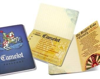 Camelot Passport Notebook