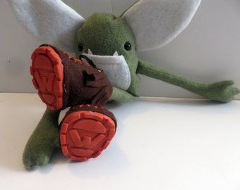 Kids Toys Plush Stuffed Monster goblin troll fairy elf doll Weeglin plushplex