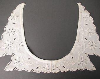 Antique Edwardian 1900s lace collar