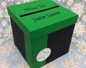 Sports Theme Card Box, Baseball theme card box, Basketball Theme Card Box, Soccer Theme Card Box, Football Theme Card Box, Golf Theme