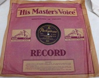Magyari Imre and his Hungarian Gypsy orchestra 78RPM Shellac Record