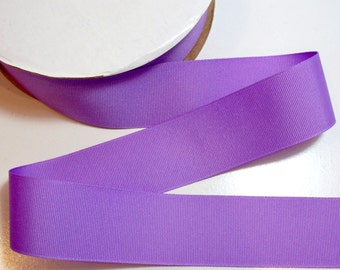 Purple Grosgrain Ribbon 1 1/2 inches wide x 50 yards,  Offray Orchid Ribbon