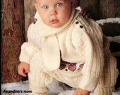 Pingouin Baby Knitting Pattern Booklet No 149 Dresses Coats Hats Booties Sweaters 49 Patterns