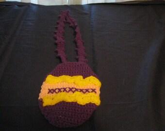 Darling Little Easter Egg Purse Bag Tote for Little Girl Toddler Easter Birthday Present Gift Christmas Spring Made to Order