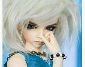 15% OFF Akasarushi Ivory Color Fur Wig Made for abjd doll size SD MSD tiny yosd and puki