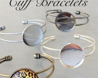 Makes 1 DIY Cuff Bracelets + 1 Glass Piece Easy to Make Jewelry