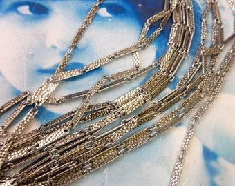 Sterling Silver Ox Plated Vintage Brass Link Chain 6007SOX x2ft