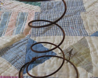 8 Rusty Bed Springs for Primitive Nodders and Makedos