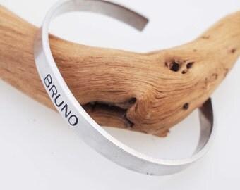 Pet Memorial Bracelet / Pet Bracelet / Personalized / Memorial Cuff