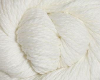 White Cascade 128 Bulky Superwash Yarn 128 yards 100% SuperWash Wool color 871