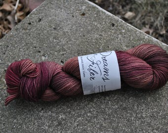 Balance Sock Yarn - Pomegranate Tea Colorway