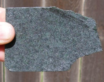 JS-46  Spotted Green Jade Raw Rough Slab