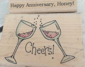 Wedding Engagement Anniversary Rubber Stamp - Whipper Snapper