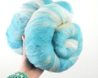 Lucy in the Sky with Diamonds - Merino Wool Art Batt 3.3oz