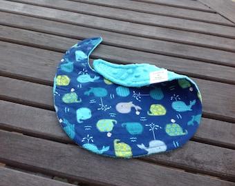 Baby Whales Baby Bib