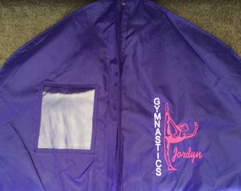 Personalized Gymnastics Gymnast Costumes Competitions Garment Dress Bag