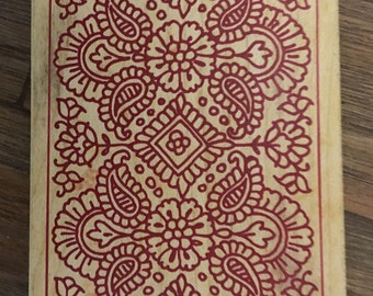 Stampa Rosa Inc. Wood Mounted Rubber Stamp