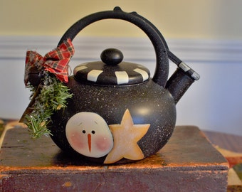 Snowman TeaPot
