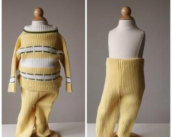 ON SALE 1950s Spring Knit Set~Size 2t