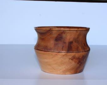 Wood  Bowl-Wood Planter-Wood Vase - Hand Turned Wood Bowl-Custom Wood Bowl