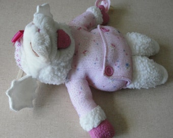 1990 Lambchop hand puppet Plush with pacifier
