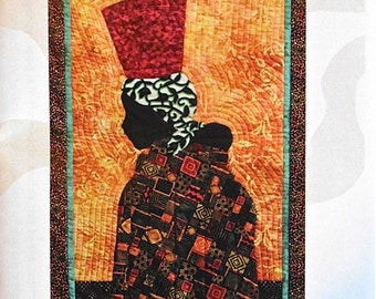 Quilt Pattern - Fetching Water wall hanging