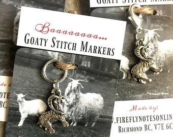 Goat stitch marker, 12 mm snag free