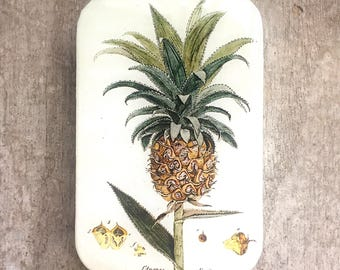 Pinapple tin LARGE,  Notions tin