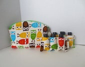 Essential oil Case - Owls Essential Oils Case - Oily Case