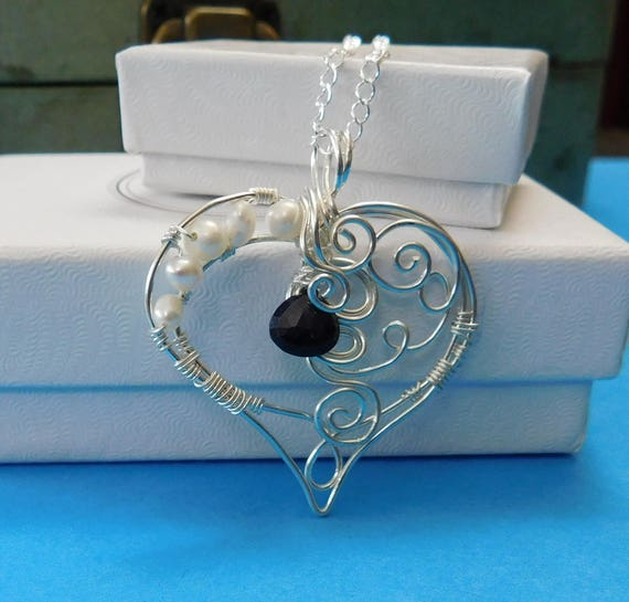 Romantic Wife Jewelry,Heart Necklace Gift for Wife,Heart Necklace Girlfriend Gift,Romantic Jewelry for Girlfriend,Girlfriend Jewelry Ideas