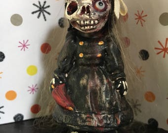 Lets play ooak miniture creepy artdoll