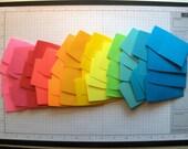 170 Mini Envelopes in Twelve Colors