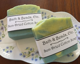 Sun-Dried Cotton Handmade Soap