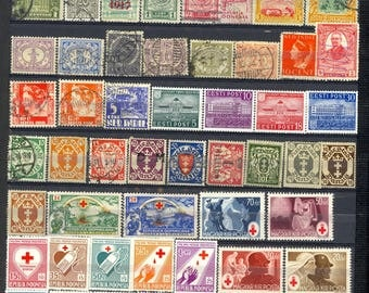 Large Worldwide Stamp Singles Used and Mint 11 Scans Antique and Vintage Lot P25