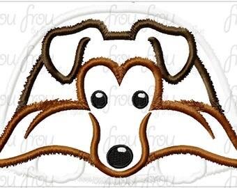 "Sheltie Collie Dog Digital Embroidery Design Machine Applique 4""-16"""