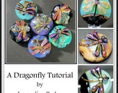 Dragonfly Lampwork Bead Tutorial by Jacqueline Parkes Ebook