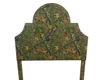 Camouflage Fabric Queen Size Upholstered Headboard Queen Headboard Camo Bed