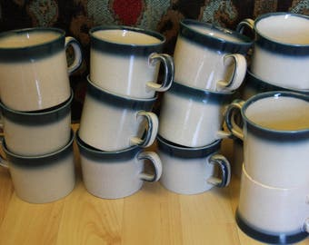 Pacific Blue Wedgwood Coffee Cups