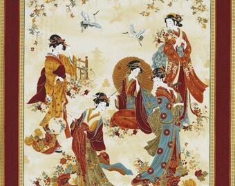 Geisha Panel Etsy