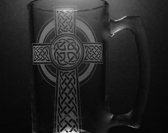 25 ounce Celtic Cross Mug